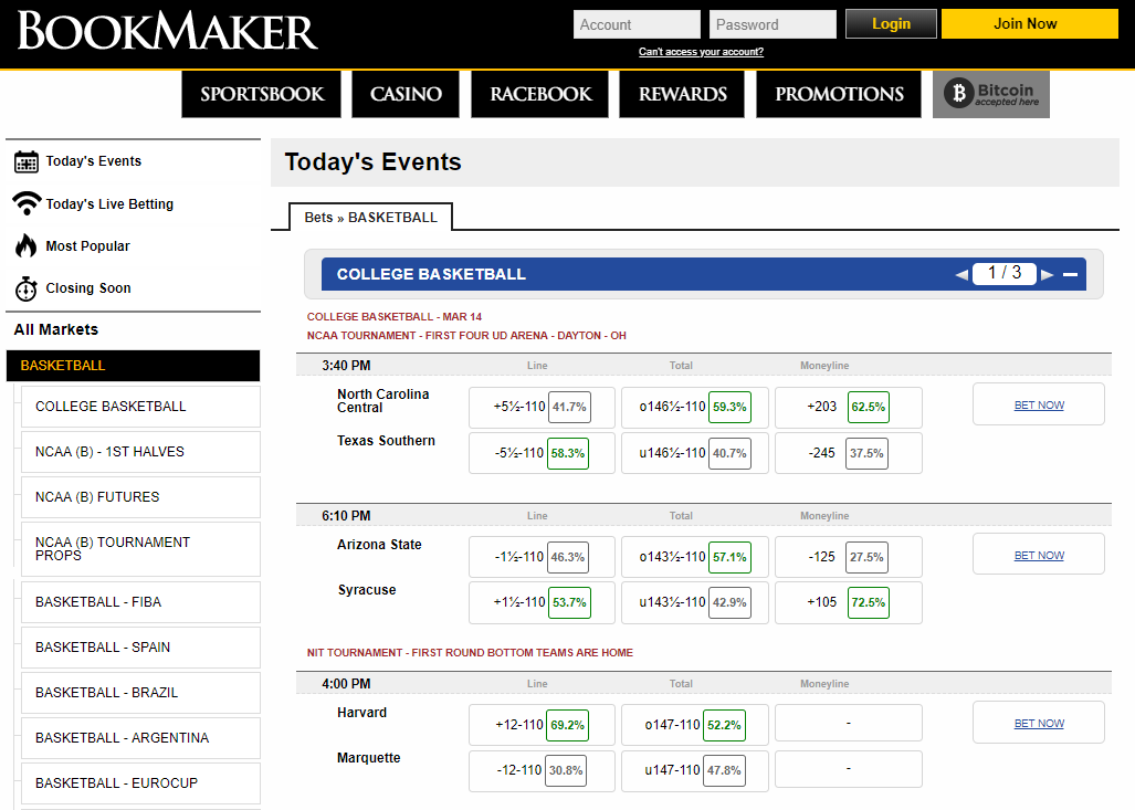 bookmaker.eu sports