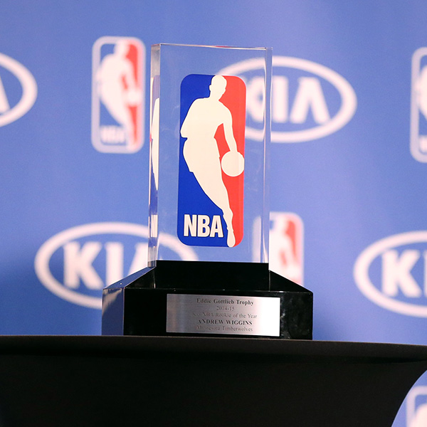 nba roy trophy